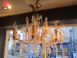 superb edwardian cut glass chandelier