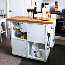 kitchen island with trash can l shaped teak wood breakfast bar glass front upper cabinet free