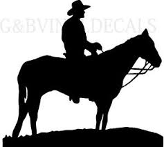 image is loading cowboy on horse western vinyl wall decal large  on horse silhouette wall art with cowboy on horse western vinyl wall decal large size silhouette wall