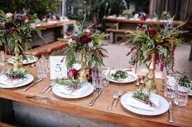 The Delauras Burgundy Rose Gold Big Sur Wedding At The Big Sur