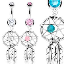 Dream Catcher Belly Button Rings Dream Catcher Belly Rings Belly Rings and Belly Button Piercings 24