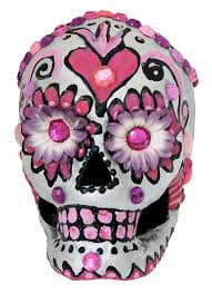 Flower Paper Mache Paper Mache Skull