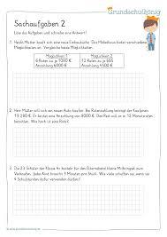Bei mathenatur.de findest du jede menge matheaufgaben zum addieren üben. Vielfaltige Kostenlose Ubungen Arbeitsblatter Und Aufgaben Zu Verschiedenen Sachaufgaben Mathe 4 Klasse Arbeitsblatter Mathe Klasse 4 Mathematikunterricht