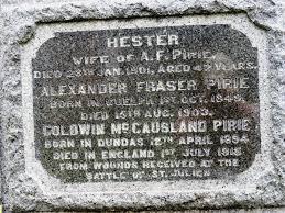 Hester Emma McCausland Pirie (1858-1901) - Find A Grave Memorial
