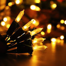 Holiday Living Gold Mini Lights Binval M5 50 100led Solar String Lights Clear Mini Fairy