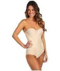 plus size strapless shapewear body shaper shapewear ebay