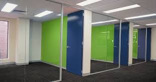office partition walls doors office