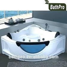 triangle bathtub large size 2 person acrylic tub massage whirlpool shaped with jets bath jacuzzi jet