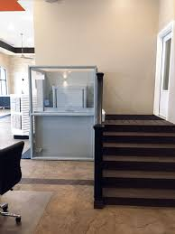 commercial wheelchair lift. Symmetry Enclosed Vertical Platform Lift In Commercial Setting Installed By Adaptive Environments Wheelchair