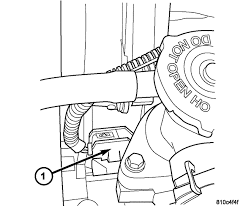 2004 chrysler sebring cam crank engin compartment and the fuse box graphic