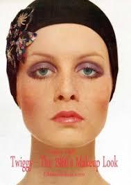 twiggy the 1960s makeup look