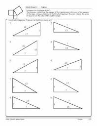 pythagorean s theorem worksheets pythagorean worksheets