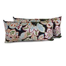 tk classics  villa floral outdoor throw pillows rectangle set of