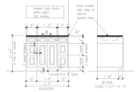simple bathroom drawing. Beautiful Drawing Basic Shop Drawing For Simple Bath Vanity Cabinet Showing All Details This  Image Shows Both Intended Simple Bathroom Drawing P