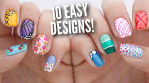 5 Basic Nail Art Designs 10 Easy Nail Art Designs For Beginners The Ultimate Guide
