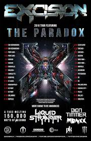 And To For Excision Dates Stoked Facebook The My Line - Up Announce