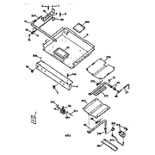 ge gas range parts model jgbp30bew1wh sears partsdirect gas burner pa