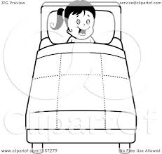 Small Picture Bed Coloring Page akmame