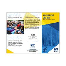 Brochure Templates University Relations