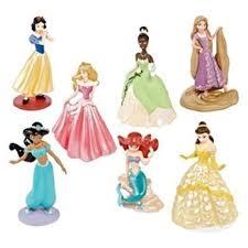 Disney Princess Jasmine Rapunzel Belle Snow White Tiana Ariel