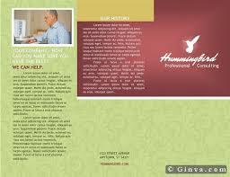 Microsoft Office Tri Fold Brochure Template Microsoft Office Brochure Templates Free Download Marriage