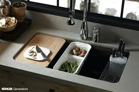 kitchen sink with cutting board kitchen sink with cutting board and colander kitchen sink with cutting