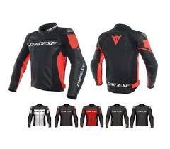 racing 3 perforated leather jacket