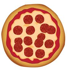 whole pizza clipart. Exellent Clipart Fraction Whole Pizza Clipart 1 With O