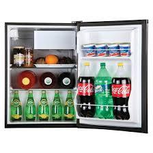 haier beverage refrigerator. haier 2.7 cu. ft. refrigerator/freezer, black, hc27sf22rb beverage refrigerator r