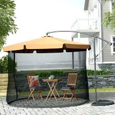 china outdoor cantilever umbrella parts for promotion patio big