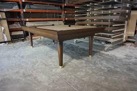 mid century modern pool table. Simple Pool Custom Billiards Table Legs Intended Mid Century Modern Pool Osborne Wood Videos  Products