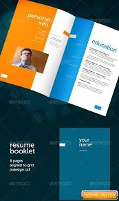 resume booklet resume booklet 8 pages free download free graphic