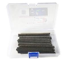 arduino connector amazon com samidea 40pcs in box 2 54mm breakaway pcb board 40 pin male and female pin header
