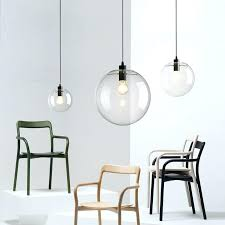 light led globe glass ball pendant light round hanging lamp re suspension kitchen fixture lighting