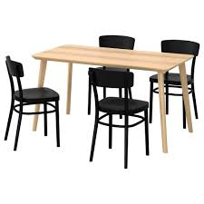 black furniture ikea. ikea idolflisabo table and 4 chairs easy to assemble as each leg has only black furniture ikea
