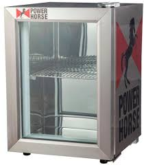 hotel table top single glass door beverage mini freezer jga sc21