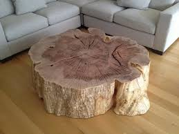 elegant wood stump coffee table natural tree stump side table west