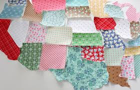 Map Quilt Tutorial - Discount Designer Fabric - Fabric.com & Step 3: Cut your top fabric to 60