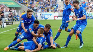 Overview u19 u17 u16 u15 u14 u13 u12. Bundesliga Die Tsg 1899 Hoffenheim Jubelt Uber Den Historischen Einzug In Die Champions League