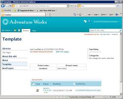 Sharepoint 2010 Library Template Sharepoint Wiki Templates