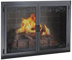 interesting modern fireplace doors 83 about remodel small home decor inspiration with modern