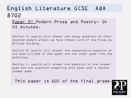 essay on english literature english literature essay questions english language gcse aqa ppt