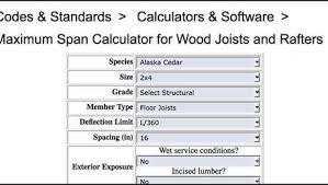 Deck Joist Span Calculator Fine Homebuilding