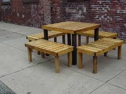 pallet furniture designs. Perfect Pallet Wood Patio Table Pallet Furniture Designs With T
