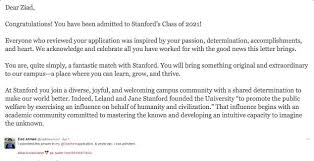 ziad ahmed full story must see details of stanford student advertisement