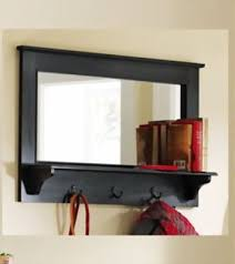 wall mirror with shelf mirror wall