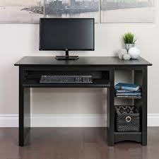 computer desktop furniture. Prepac Furniture Contemporary Black Computer Desk Desktop S