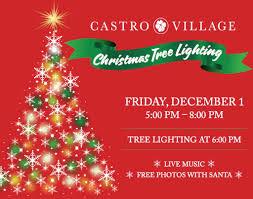Castro Valley Christmas Tree Lighting Dec 1 Tree Lighting Photos With Santa Music Castro