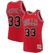Details About Scottie Pippen Chicago Bulls Mitchell Ness 1997 98 Hwc Swingman Jersey Red
