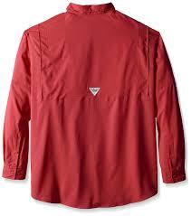 Columbia Fishing Shirt Size Chart Columbia Sportswear Mens Tall Tamiami Ii Long Sleeve Shirt